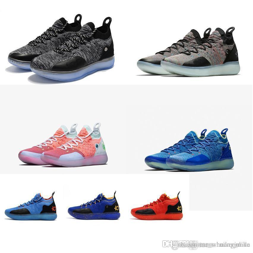 promo code 39fce 3c909 2019 Cheap New Women Kd 11 Basketball Shoes Low Top Cut Boys Girls Children  Youth Kids Kevin Durant Xi Air Flights Sneakers Boots Tennis For Sale From  ...