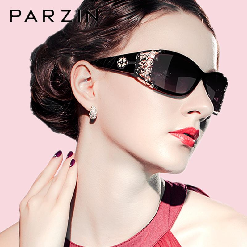 d325c7cfb PARZIN Luxury Sunglasses Women Designer Vintage Polarized Ladies Sun Glasses  For Women Hollow Lace Female Glasses For Driving Sunglasses Case  Knockaround ...