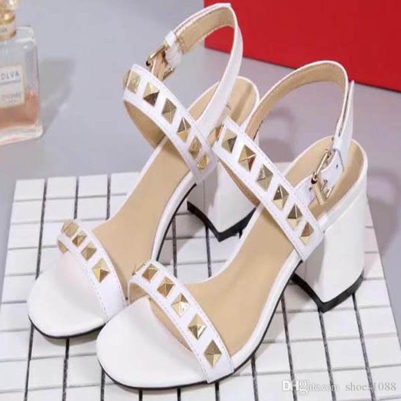 ab5d530a5b3 New Korean Fashion Wild Non-slip High Heel Sandals Sexy Comfortable ...