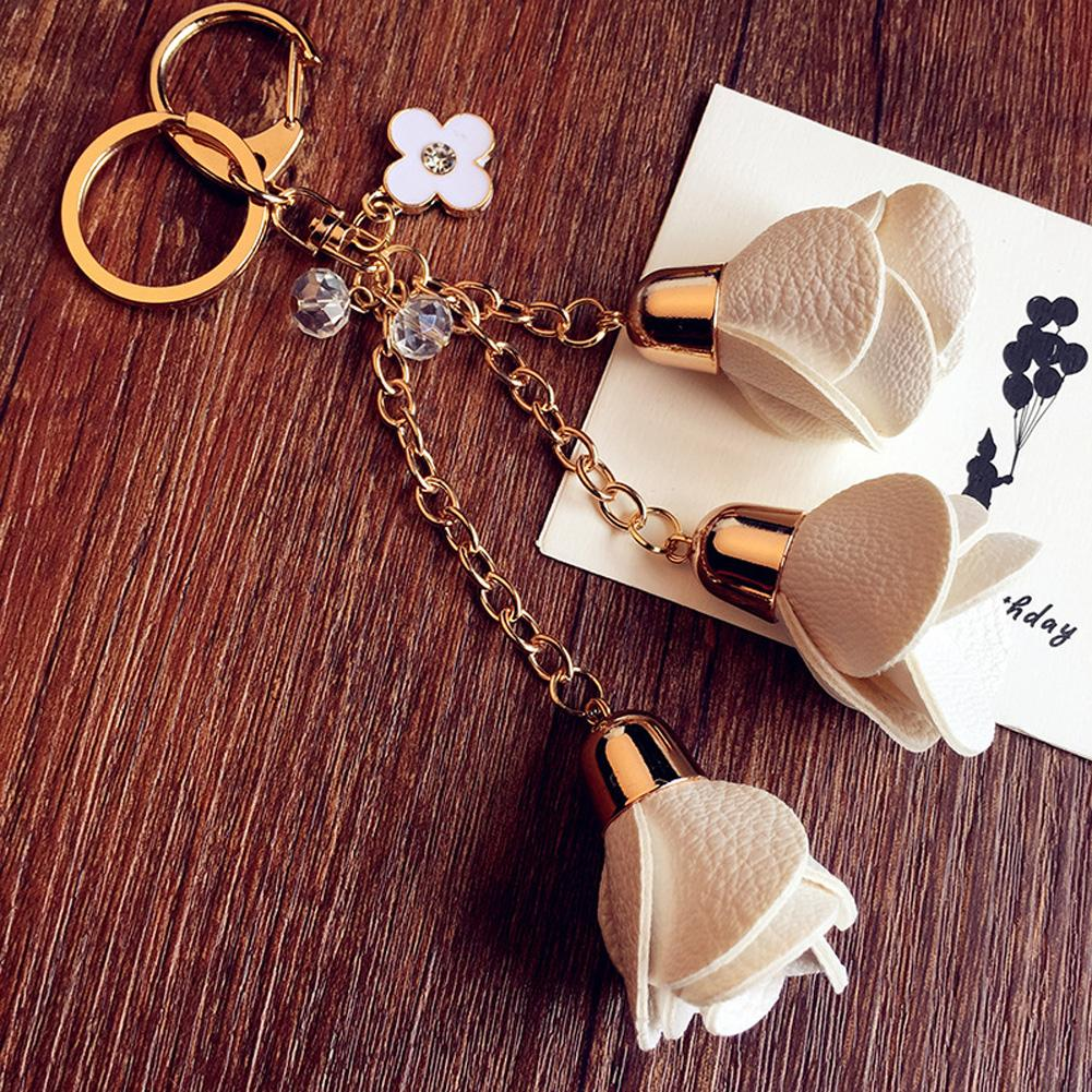 Style Grateful Hot Sale Pretty Rose Flower Keychain Products Available  Classical Handmade Keychains Custom Lanyards From Value222 0e09db437c6f
