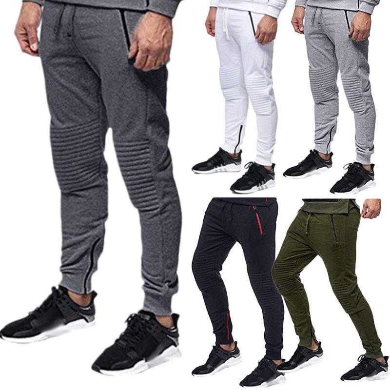 00fdad92a2582c 2019 Fashion Men S Fleece Heritage Sweatpants Jogger Bottoms Track Jogging  Pants Tracksuit Sweatpant Sports Trousers From Sincha