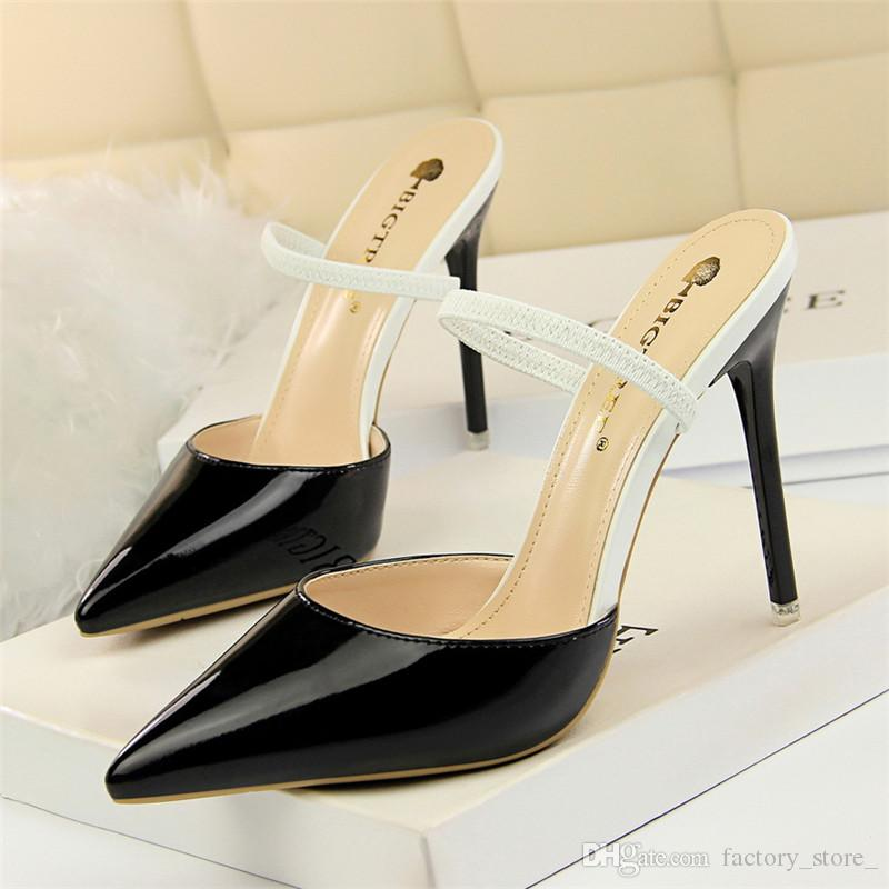 Topic, interesting Fetish high heel mules can look