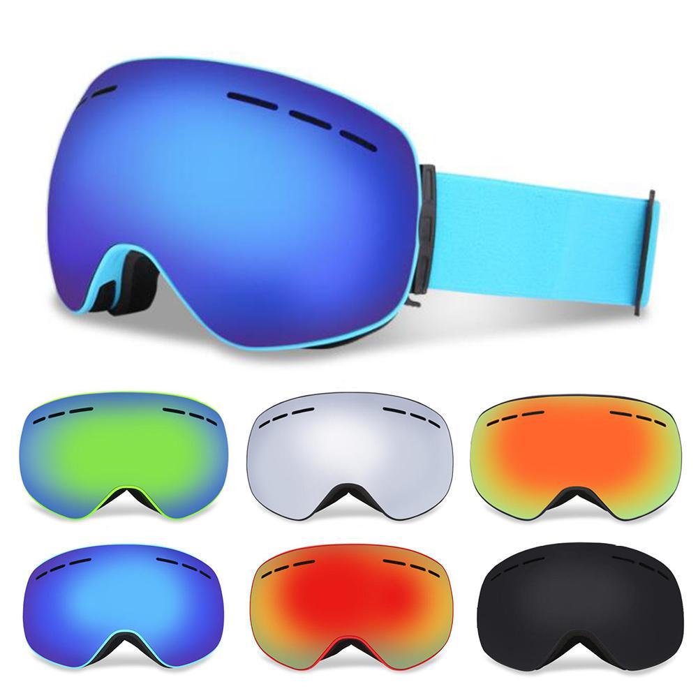 Compre YFXcreate Óculos De Esqui Magnético Camadas Duplas UV400 Anti Fog Grande  Máscara De Esqui Óculos De Esqui Das Mulheres Dos Homens Snow Snowboard ... f51ec18e2e