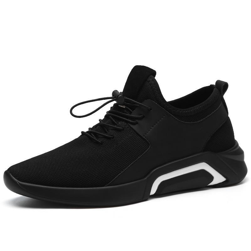 df6eb0b958bda Compre BONJEAN Nuevo 2019 Hombres Zapatos Casuales Zapatillas Planas Moda  Transpirable Antideslizantes Zapatos Sin Cordones Mocasines Para Hombre  Tamaño Más ...