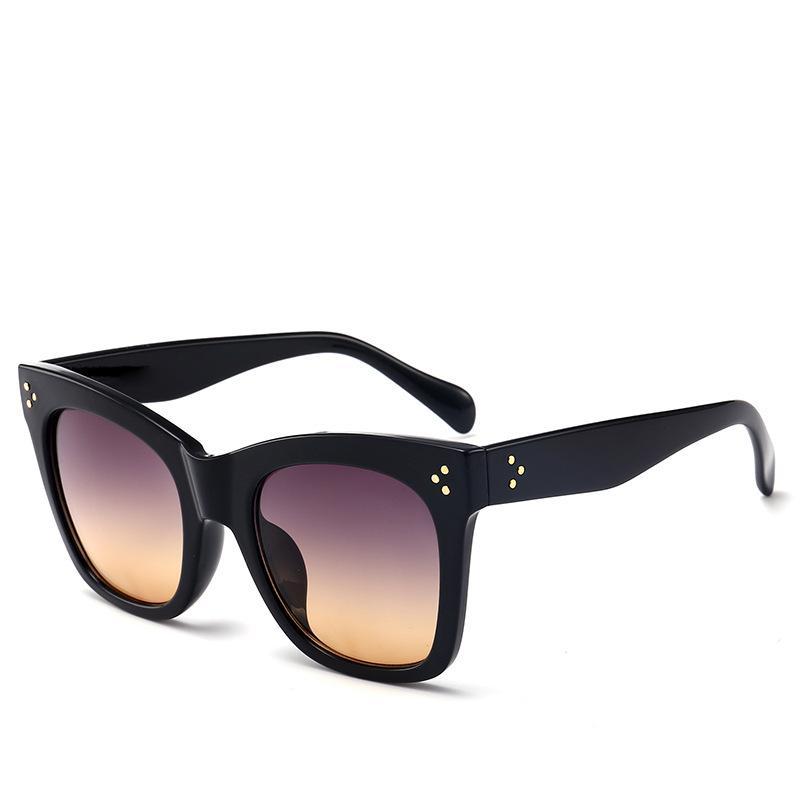 4ee0f4f50d 2019 Retro Gradient Sunglasses Luxury Brand Women Square Glasses High  Quality UV Protection Trendy Eyewear Designer Cat Eye Sunglasses Victoria  Beckham ...