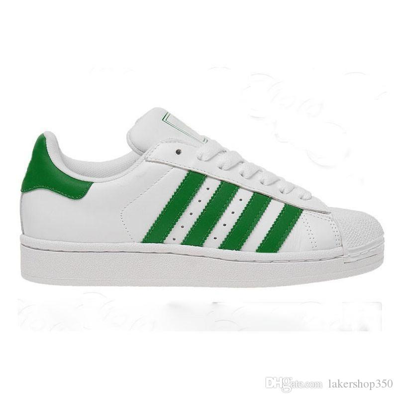 avec boîte 2019 adidas Superstar Stan Smith Originals Blanc Hologramme Iridescent Junior Superstars Fierté Snakers Super Star Femmes Hommes Sport