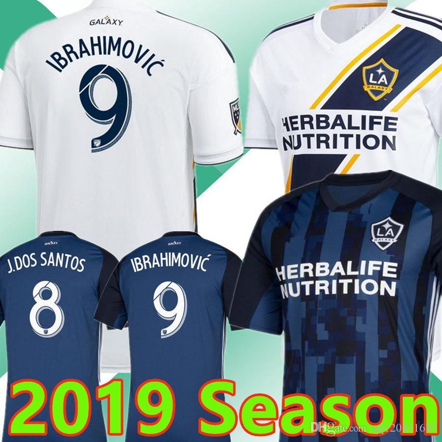 07d3cc22d80 2019 Thailand 2019 IBRAHIMOVIC Soccer Jerseys 19 20 Los Angeles Galaxy  GIOVANI J.DOS SANTOS Football Kit Top Shirts From Qq120811687, $17.26 |  DHgate.Com