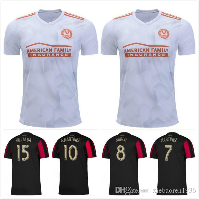 more photos 80255 0c18b 2019 2020 MLS Atlanta United Soccer Jersey Men Team FC 24 GRESSEL 5 PIREZ 3  PARKHURST 16 McCANN 1 GUZAN Football Shirt Kits Make Custom