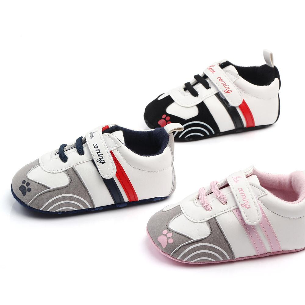 cf7df4319a433 Toddler moccasins baby shoes PU Leather First walker shoes soft sole  Newborn Girls boys sneakers Infant Prewalker All season gear Shoes