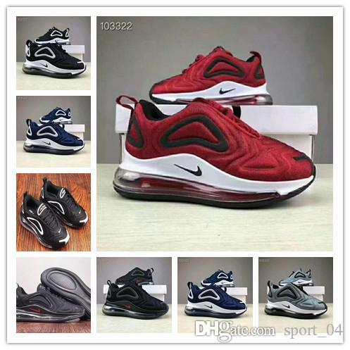 Nike Air max 720 youth Running Shoes kid Sneakers max 72c 720s run out door Sports shoes size 28 35 720 atmospheric cushion cushioning