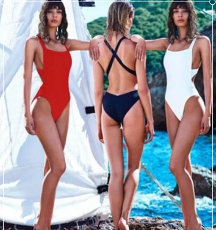 4b5905e9e845f European And American Sexy Women One Piece Swimsuit Padded Bikini Swimwear  Bathing Monokini Sexy Bikini Backless Micro Bikini Wholesale Online with ...