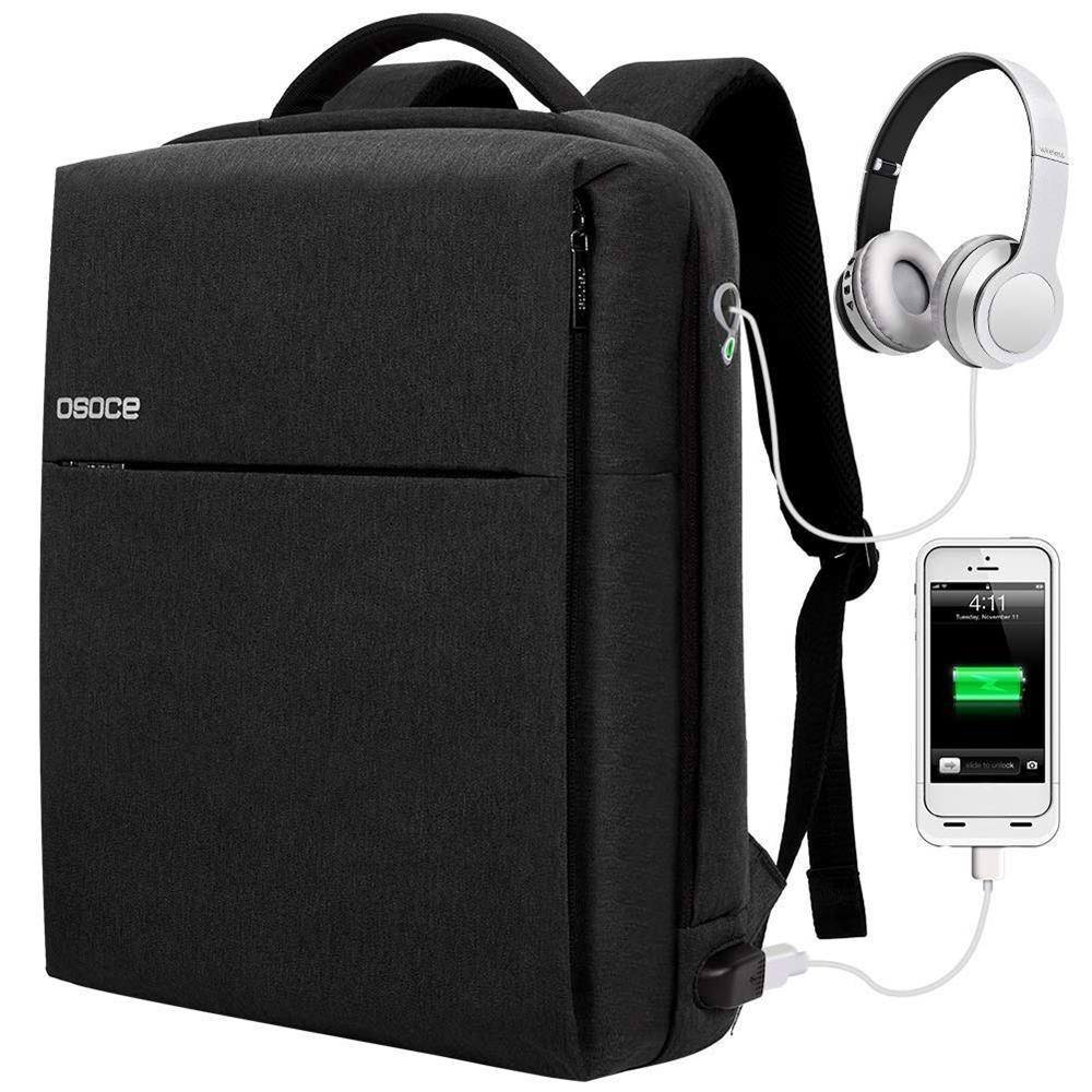 OSOCE S7 15.6 Inch Laptop Backpack Business Waterproof Anti-theft ... cf4c7879cf41