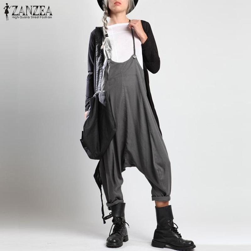 940814118b Wholesale Rompers Women Jumpsuit 2019 Fashion Ladies Harem ...