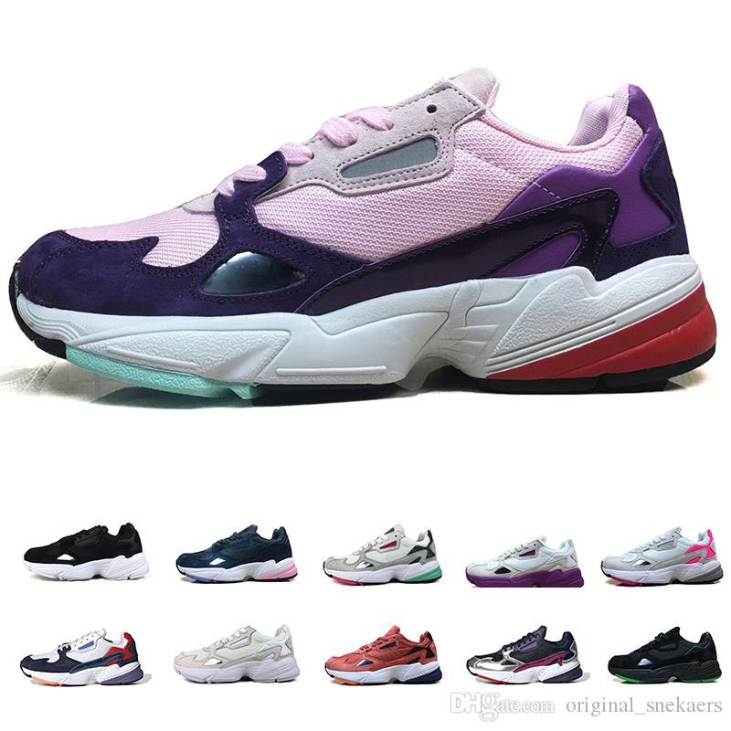 Casual Femmes Hommes Coureur Chaussures De Luxe W Designer 2019 Falcon Course Adidas Mode Pour Traners Sport Sneakers WHEI2D9