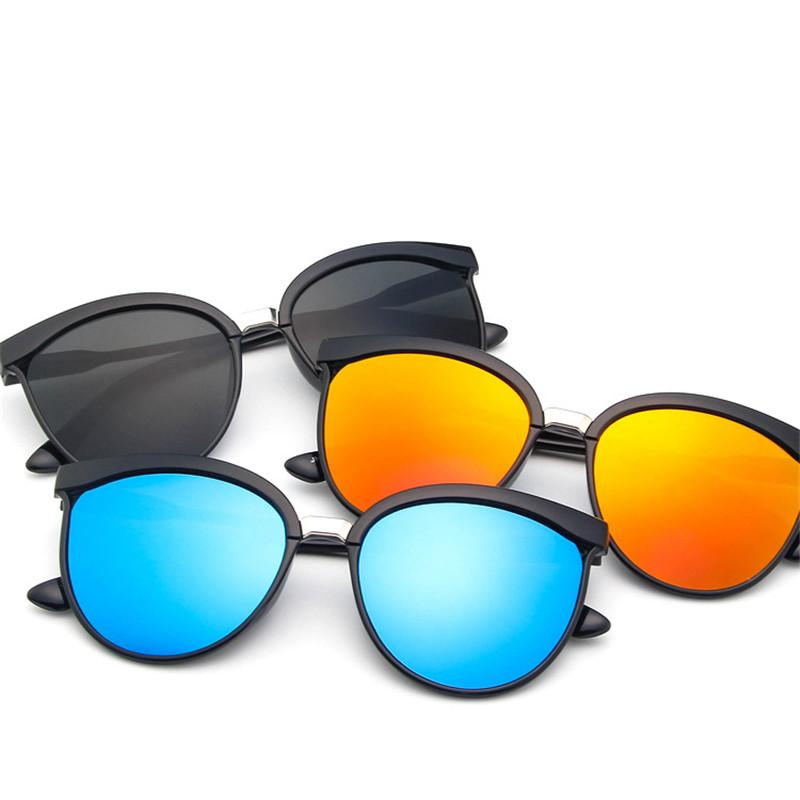 2019 New Cat Eye Women Sunglasses Tinted Color Lens Men Vintage Shaped Sun Glasses Female Eyewear Blue Sunglasses Brand Designer Discounts Price Women's Glasses