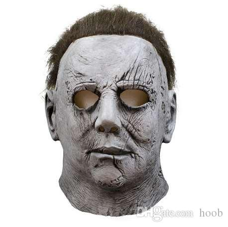 cbbfcba7778da Movie Horror Michael Myers Halloween Mask Cosplay Scary Latex Masks Helmet  Party Costumes Funny Masks For Adults Funny Masquerade Masks From Hoob