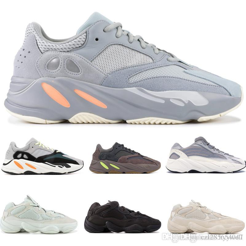 17837c834 2019 Originals Kanye West X Adidas Yeezy Wave Runner Boost 700 Static V2  INERTI Mauve Geode SNEAKERS SPORTS RUNNING Old DAD SHOES 36 45 From  Hyywell