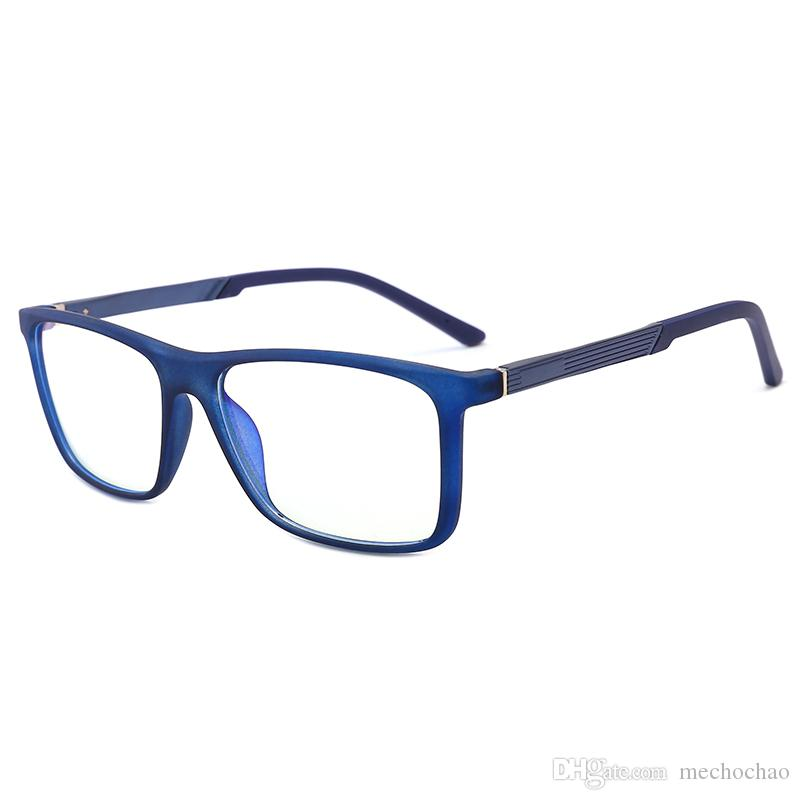 965830a07387 Top Quality Computer Radiation Glasses Blue Film Radiation Computer Mobile  Phone Anti Blue Light Radiation Glasses Unisex 0 Degree Glasses Cheap ...