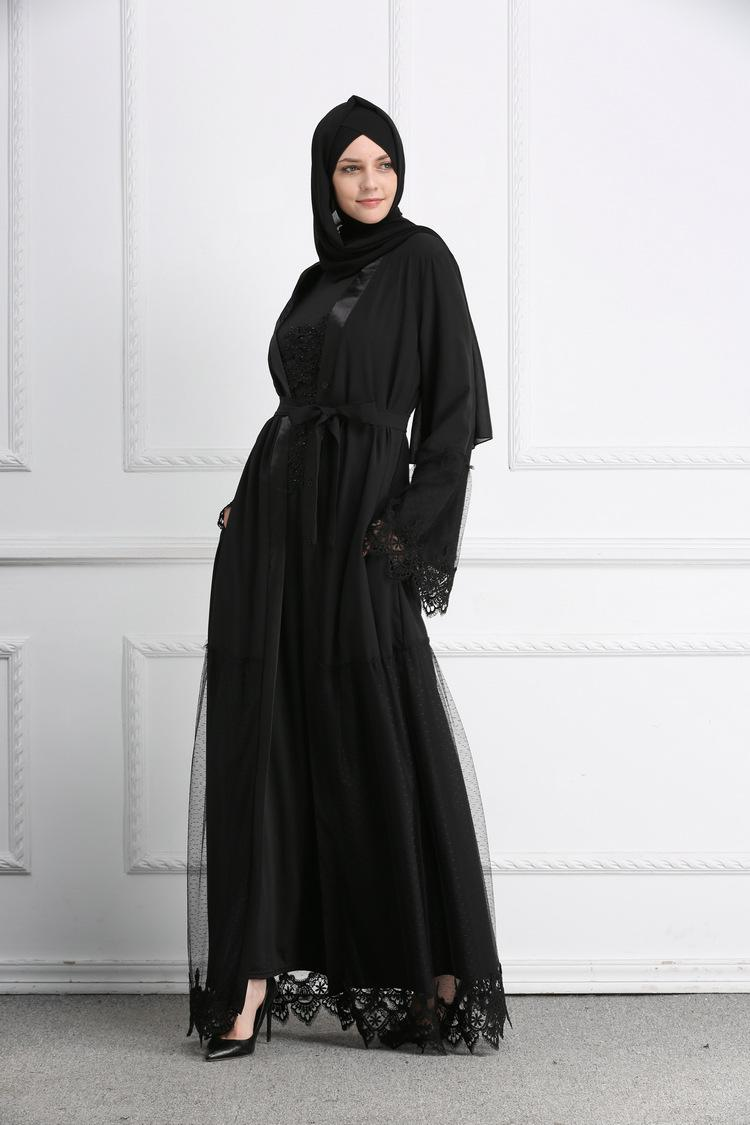 74e1defb06fee muslim dress No Scarf women new abaya 2019 islamic clothing bangladesh  turkish hijab dress islamic ramadan lace abaya turkish dresses
