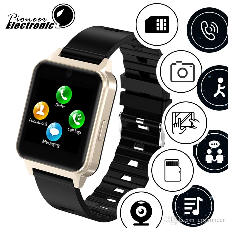For apple iphone Newest android Bluetooth Smart Watch 2019 smartwatch Support SIM TF Card with Camera PK GT08 DZ09 A1