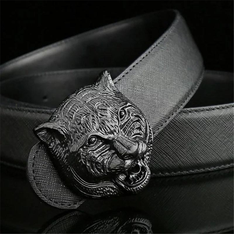 Luxury Letter Buckle Belts Quality Fashion Classic Waistband Italy Designer Leather Waist Straps Men Women Luxury Animals Buckle Casual Belt