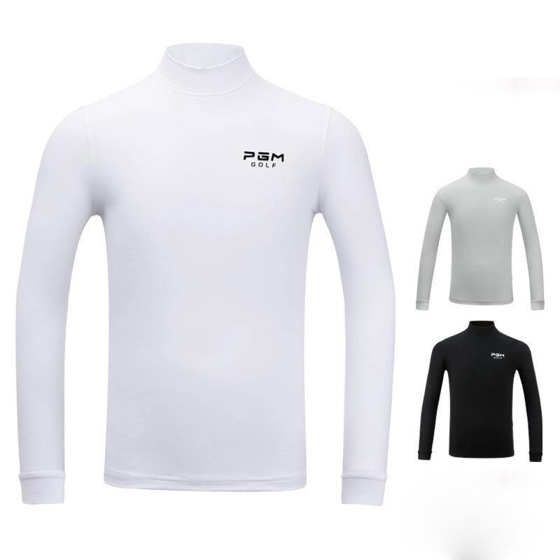 27d9bdaa 2018 Golf Shirt Autumn Winter Warm Long Sleeve Shirt Male Golf ...