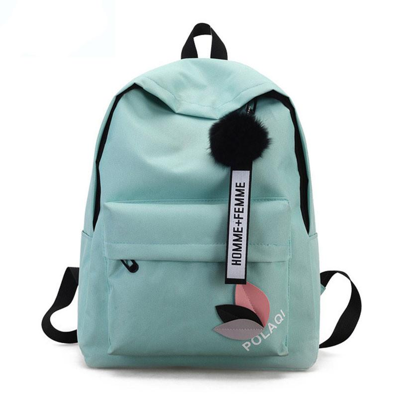 IMIDO High Quality New Arrival Women S Canvas Backpack School Bag For  Teenager Girls Rucksack Design Travel Laptop Pouch 2019 Cool Backpacks  Travel Backpack ... a87fb9e43a
