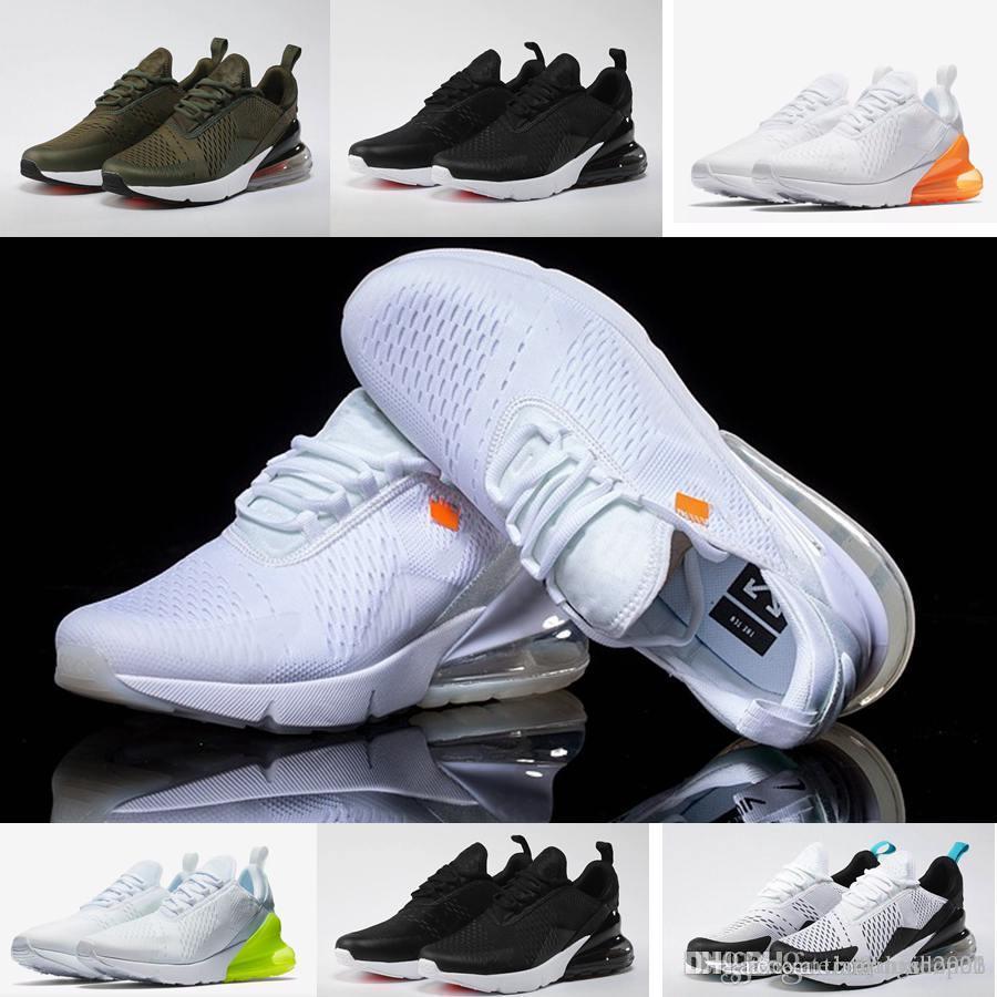 276a0b46ca Acheter Nike Air Max 270 Vapormax Max Off White Flyknit Utility Vapormax Livraison  Gratuite Hommes Chaussures De Course Pour Femmes Hommes Jogging Marche En  ...