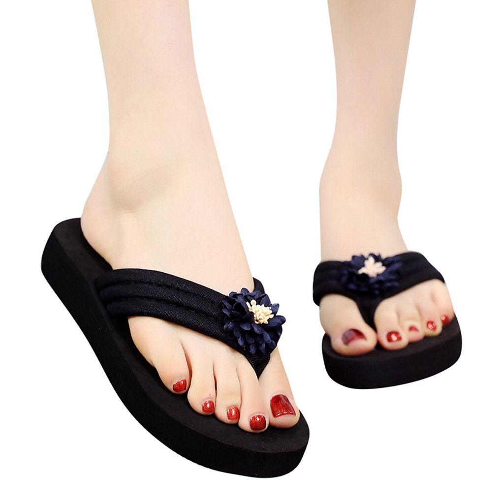 6848193608fc4 Youyedian women summer clip toe flip flops women bohemian non jpg 1024x1024 Flip  flops that cover
