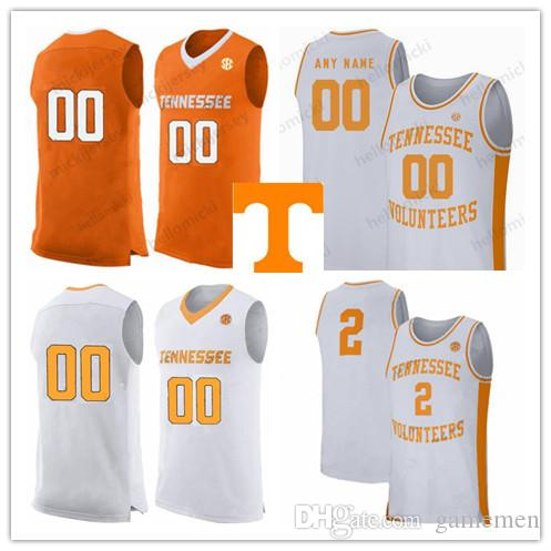 Tennessee Volunteers 1 Lamonte Turner 2 Grant Williams 5 Admiral Schofield 2019 Basketball Custom Any Name Number stitched Jerseys