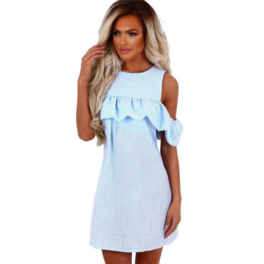Off the Shoulder Sun Dress