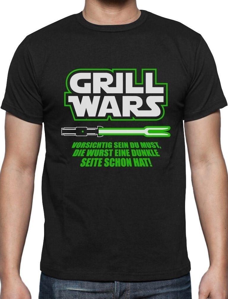 Geschenk Fur Uberirdische Grill Wars T Shirt Grillen Geschenkidee