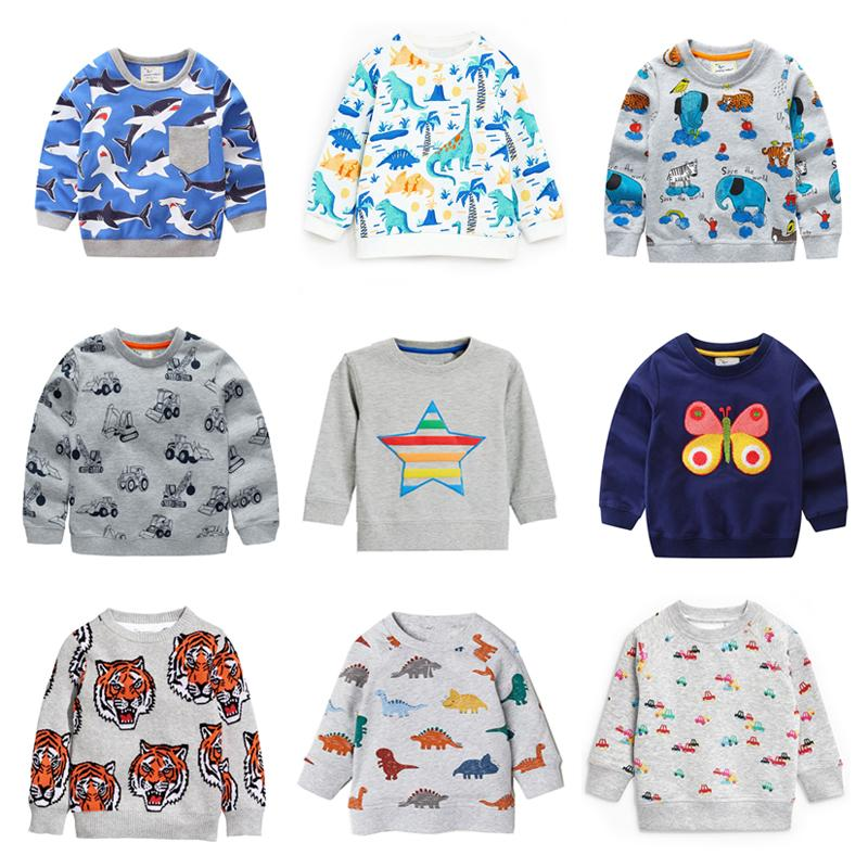 884f118ae Kids Cartoon Sweaters Pullover Kids Designer Clothes Boys Unisex ...
