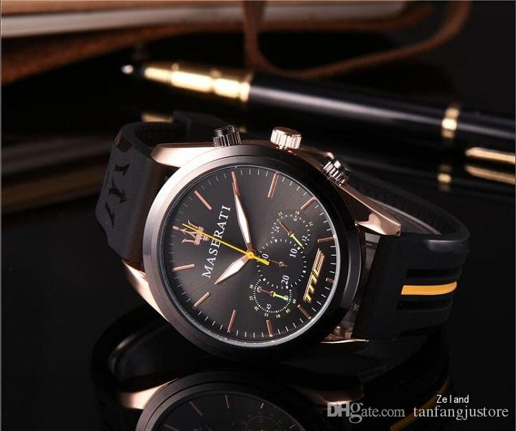 Gift Box Choosing Italy Men Luxury Watches Casual Rubber Steel Top Brand Quartz Automatic Dress Wristwatch Clock Relojes