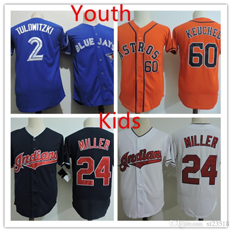 premium selection a46b0 23e94 Discount! Youth #2 Tro Tulowitzki Jerseys Stitched Kids #24 Andre Miller  #60 Dallas Keuchel Jersey S-3XL