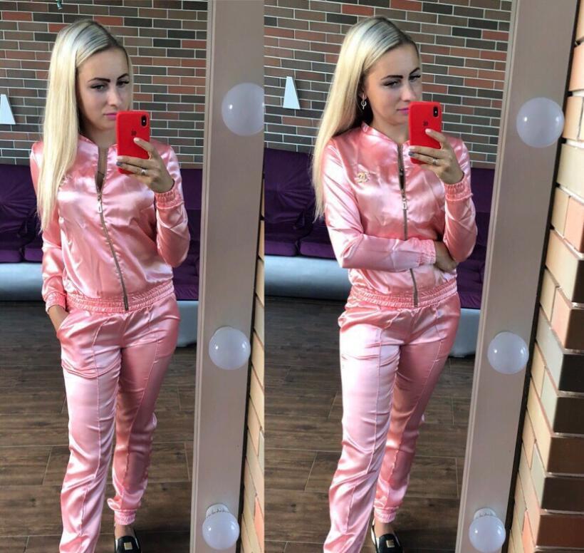 2019 Chanel Women Sport Tracksuit Hoodies Pants Woman Set Outfit