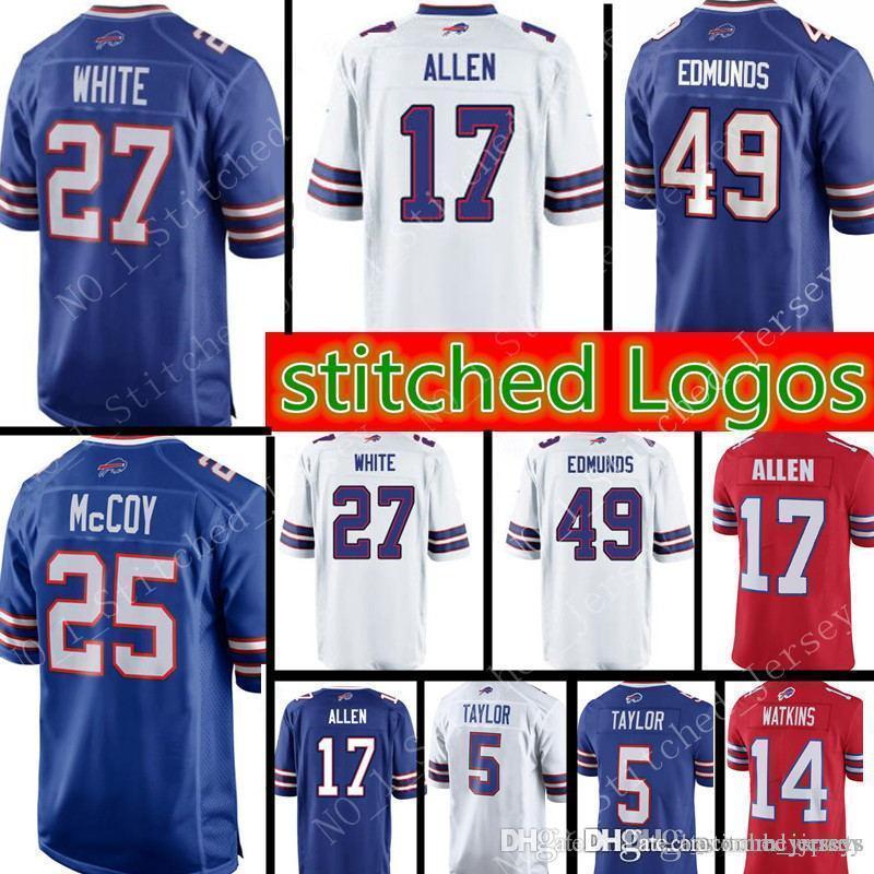 27 Tre Davious White 49 Tremaine Edmunds 17 Josh Allen Buffalo Bills ... 1af3d8b0f