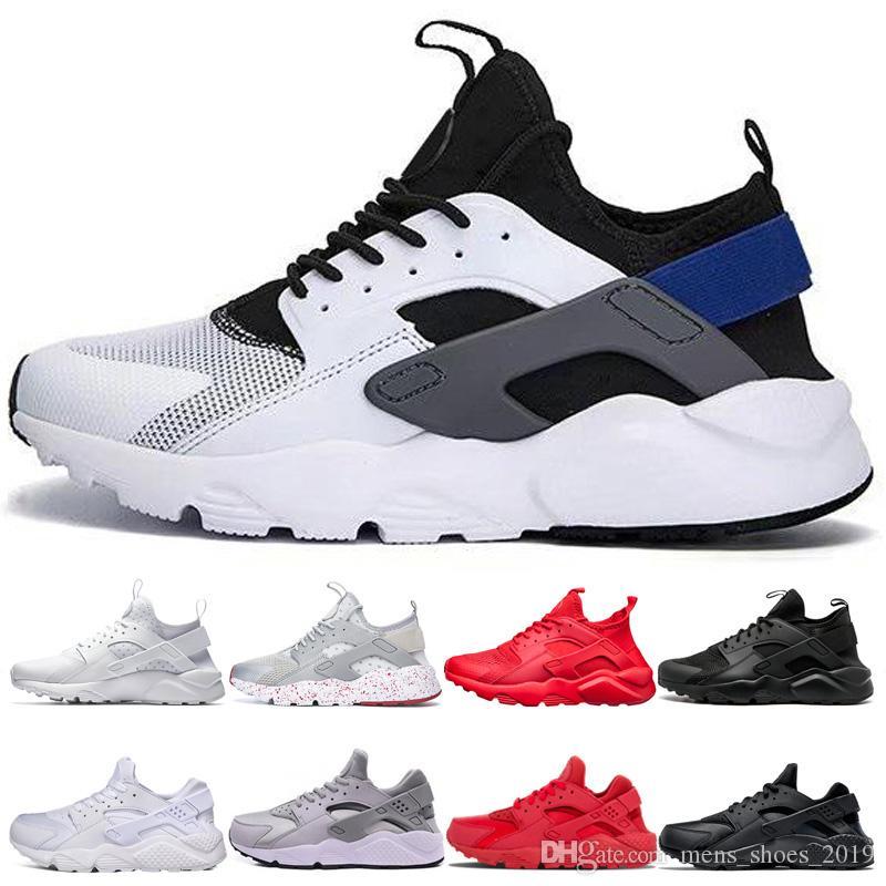 bf71c550e75a Compre Nike Air Huarache Shoes Huarache 1.0 4.0 Tênis De Corrida Para Homens  Mulheres Ultra Huaraches Homens Triplo Branco Preto Vermelho Cinza Roxo ...