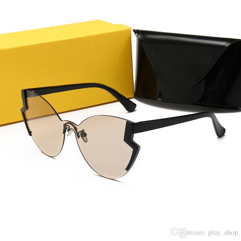 6daa8ef13 Compre FENDI 0312 Novo Designer De Óculos De Sol De Design De ...