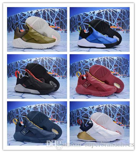 d42002117ee66 Mens Lebron Ambassador 11 XI Basketball Shoes for Sale Black White Grey  Oreo Blue Olive New What the Lebrons 16 Generation Sneakers Online with   57.15 Pair ...
