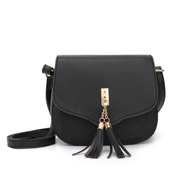 295ff45ecb Good Quality 2019 Women S Designer Handbag New Quality Solid Color Pu  Leather Women Bag Tote Bag Tassel Shoulder Messenger Bags White Handbags  Satchel ...