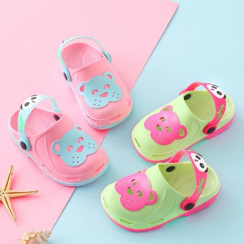 4e1b04de3 Summer Cool Fashion Kids Slippers For Boys Flat Beach Sandals Baby ...
