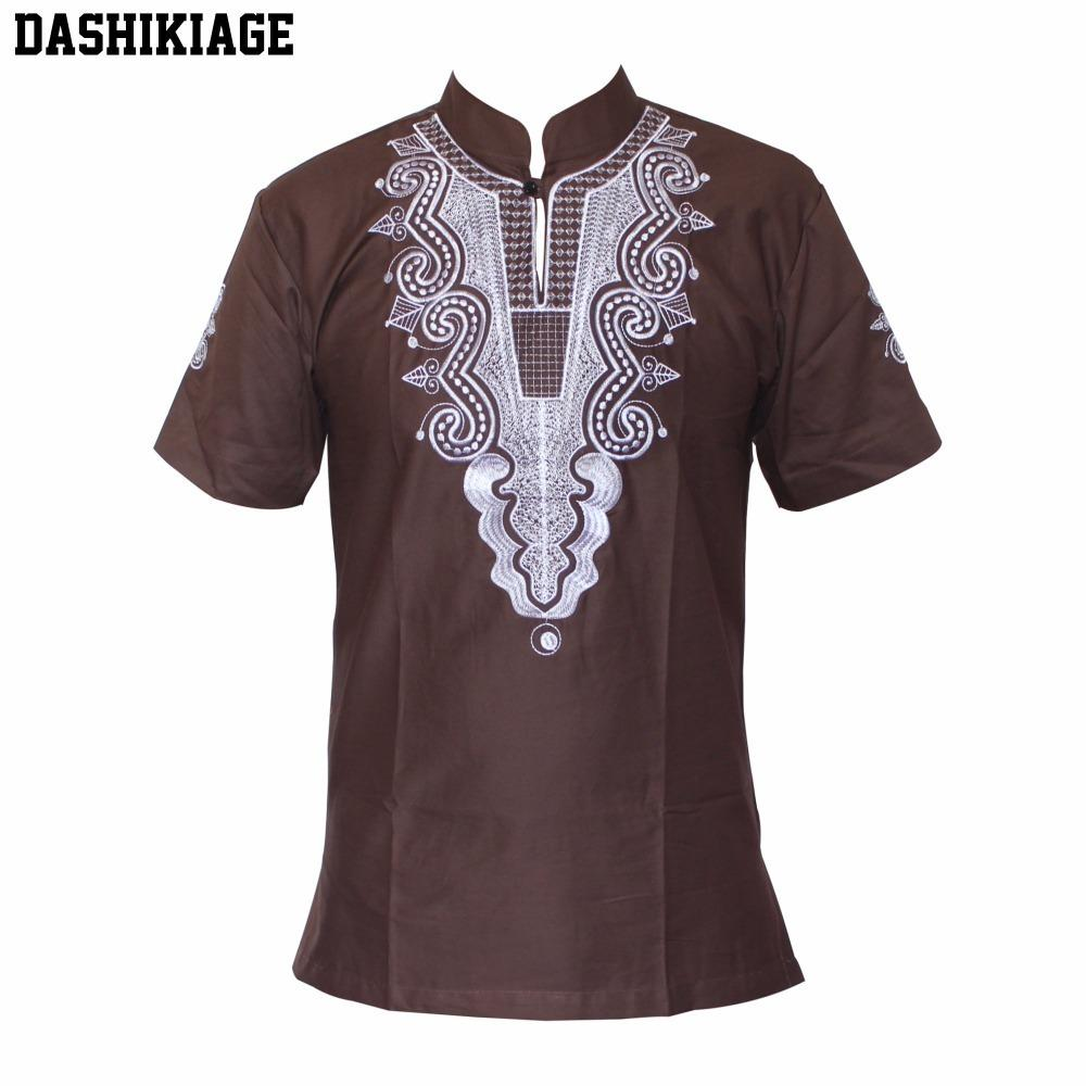 6443fe161 Dashikiage African Fashion Men/Women Unique Embroidery Design Causal T  Shirt Cool Outfit Tops High Quality C19041702 Shirt Custom T Shirts From  Xiao0002, ...