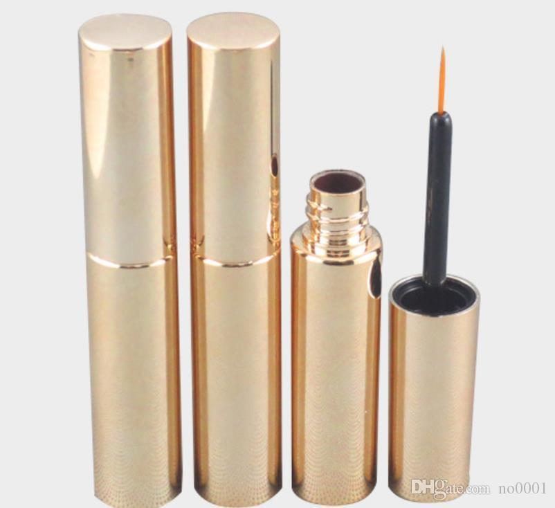 New Style Bouteille liquide 550pcs x vide Tube Cils Vial Or Argent Mascara UV 8ml Container y 8cc Eyeliner Make Up Tube
