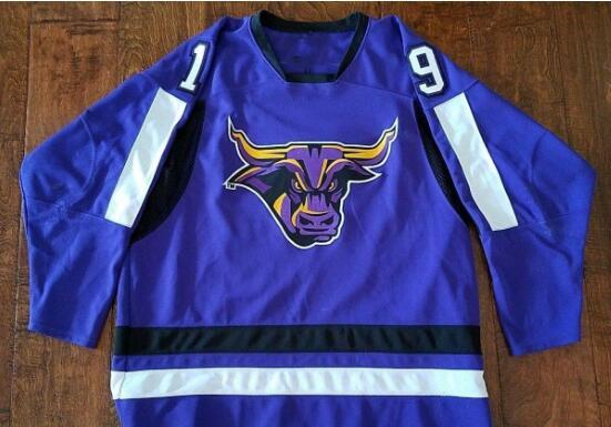 super popular 76fab aa982 Customize Vintage MINNESOTA STATE MANKATO MAVERICKS LEHRKE Hockey Jersey  Embroidery Stitched or custom any name or number retro Jersey