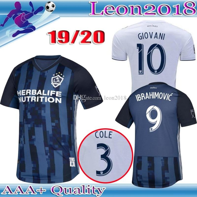 2019 Top Thai Quality 2019 MLS LA Galaxy Soccer Jersey 19 20 Los Angeles  Galaxy IBRAHIMOVIC GIOVANI DOS SANTOS KAMARA Football Jerseys Shirt From  Leon2018 f715f8d44