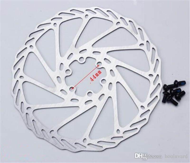 2019 180mm Disc Brake Rotors 6 Bolts Stainless Steel For Mtb