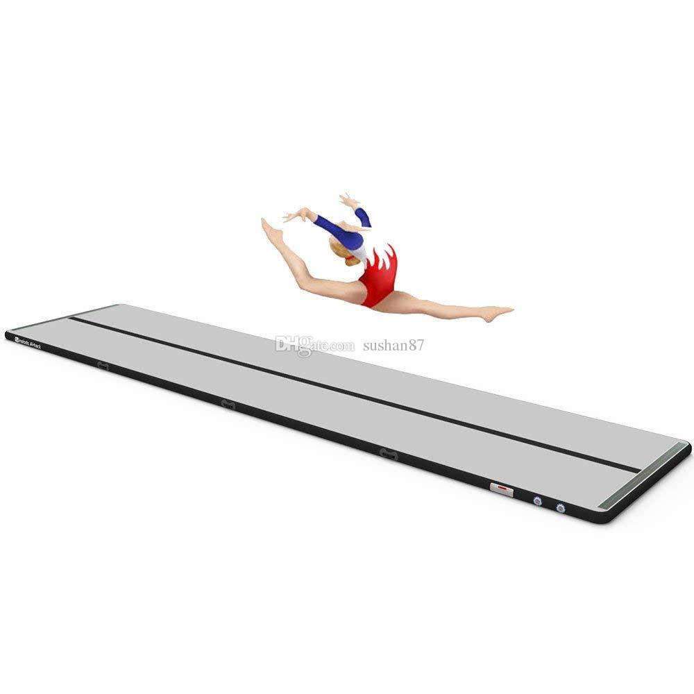 Gymnastics Equipment For Sale >> 2019 Free Pump 6x1x0 1m Air Tumbling Gymnastics Mats Pvc Inflatable