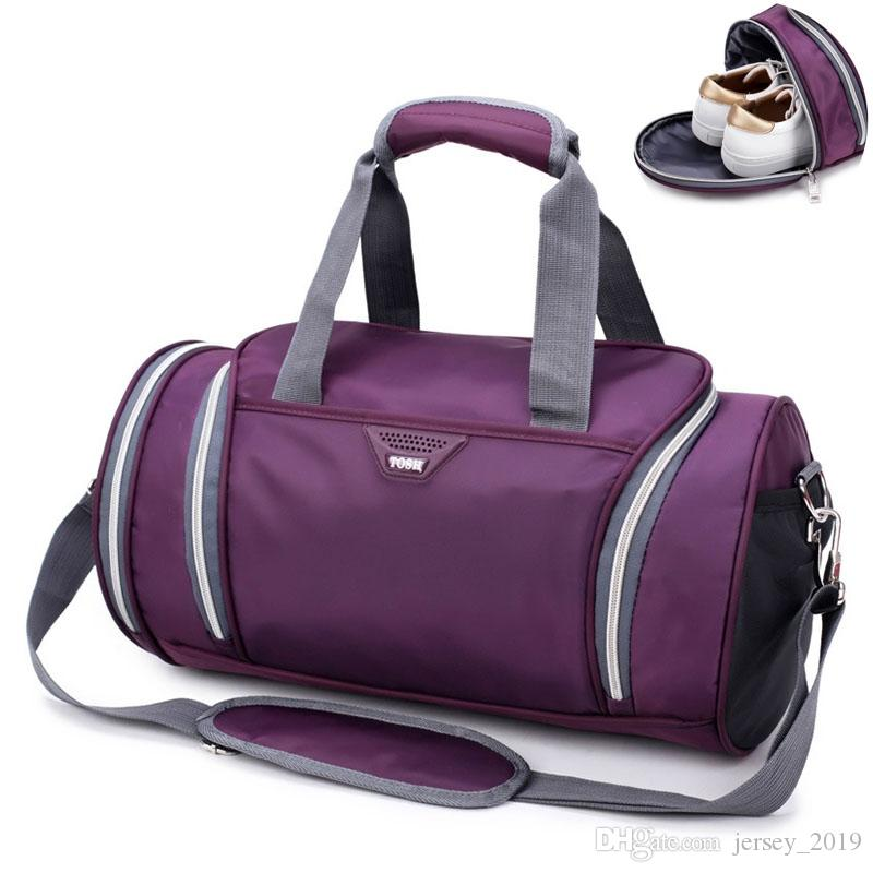 Travel Sports Gym Bags Yoga Handbags Fitness Bag for Shoes Training ... bf2aa9fd5164a