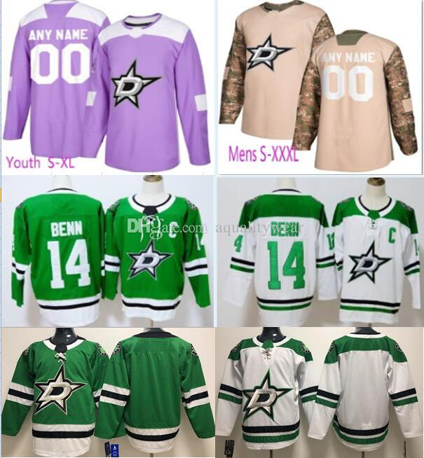 the best attitude 05b8d 107a8 Customized Dallas Stars hockey Jersey mens womens youth kids personalized  specially made custom any name number Stitched Hockey uniform